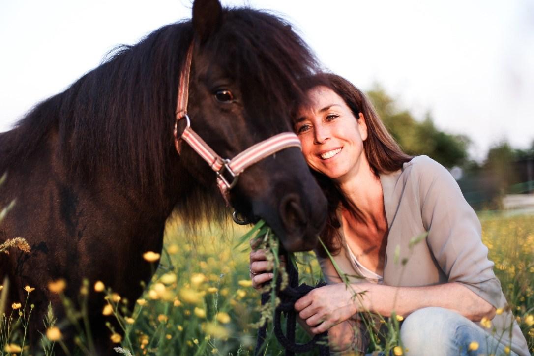 In de omgang met paarden ontmoet je ookjezelf
